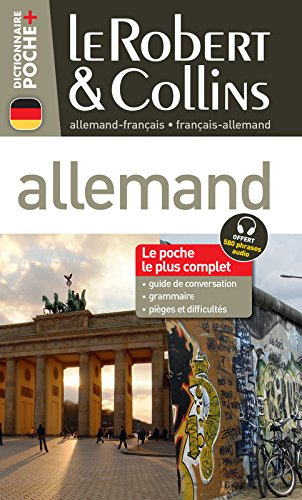 Le Robert & Collins Poche + Allemand par Collectif