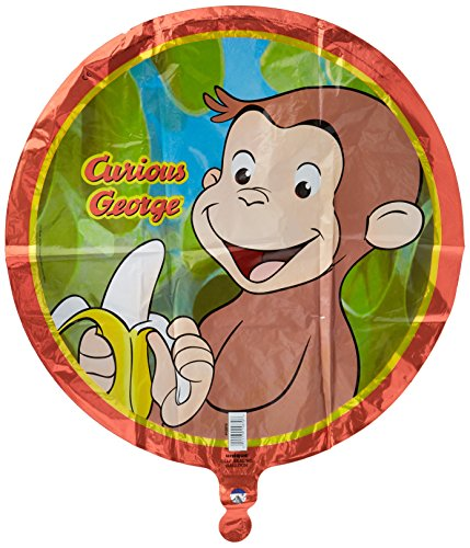 Curious George Foil Balloon (George Party Supplies)