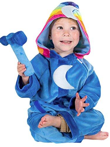 erdbeerloft - Unisex - Kinder Wolkenkind Baba Blue Komplett Kostüm Karneval, Blau, Größe 80-86, 12-18 (Kostüm 18 Robin Monat)