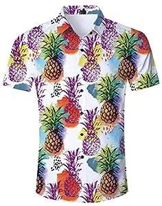 Loveternal Coloreada Hawaiana Piña Shirt