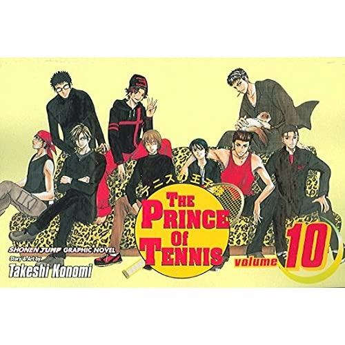 [The Prince of Tennis: v. 10] (By (author)  Takeshi Konomi) [published: October, 2008]