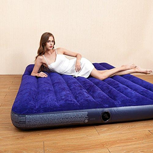 Saco de dormir colchón de aire Colchón de aire de espesamiento para el hogar cama plegable de aire de siesta plegable Plegable con bomba eléctrica de doble uso ( Color : 76*191cm(29.9*75.2 inches) )