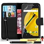 Motorola Moto E 2nd Gen Premium Leath...