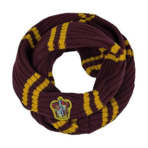 Cinereplicas - Harry Potter - Echarpe Infinity - Ultra Douce - Licence Officielle - Maison Gryffondor - 190 cm - Rouge et Jaune