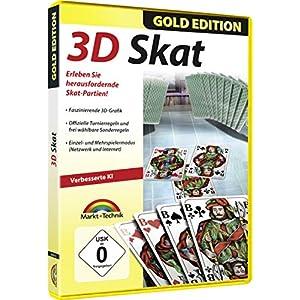 3D Skat Gold Edition – Premium Kartenspiel für Windows 10 / 8.1 / 7 / Vista