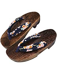 TopIn Unisex Japanese International Leichte Geta Sommer Sandalen Flip Flops 2018 uqESXCYFFQ