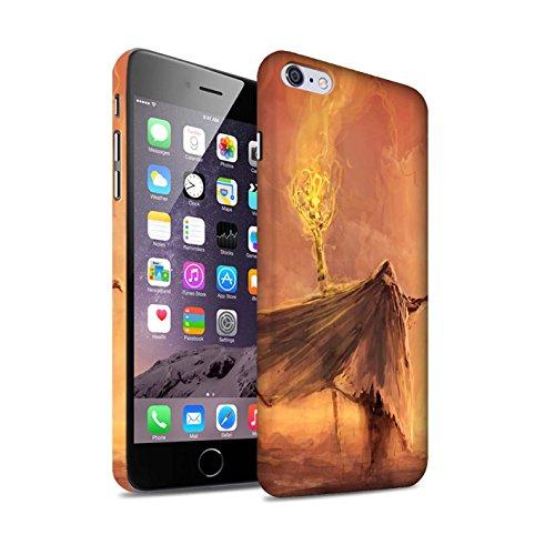 Offiziell Chris Cold Hülle / Matte Snap-On Case für Apple iPhone 6S+/Plus / Dunkelste Stunde Muster / Dämonisches Tier Kollektion Kriegsheld/Warlock