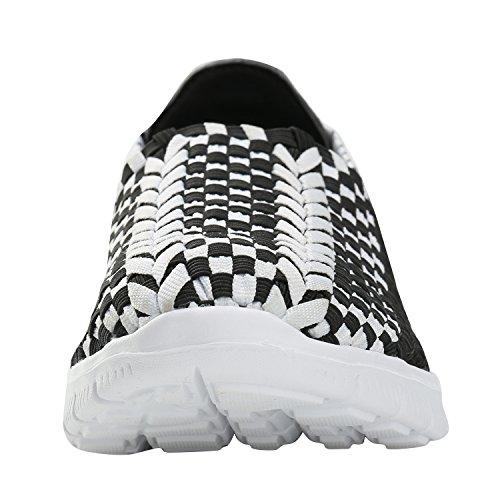 Alexis Leroy Balance, Low-Top Sneaker Scarpe da ginnastica Donna Nero