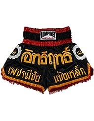 Lumpinee LUM-017 - Juego de pantalones cortos para Muay Thai o Kick Boxing Talla:large