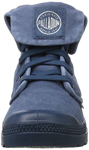 Palladium Pallabrouse Baggy, Sneakers Basses Homme Bleu (Majolica Blue/silver Birch)