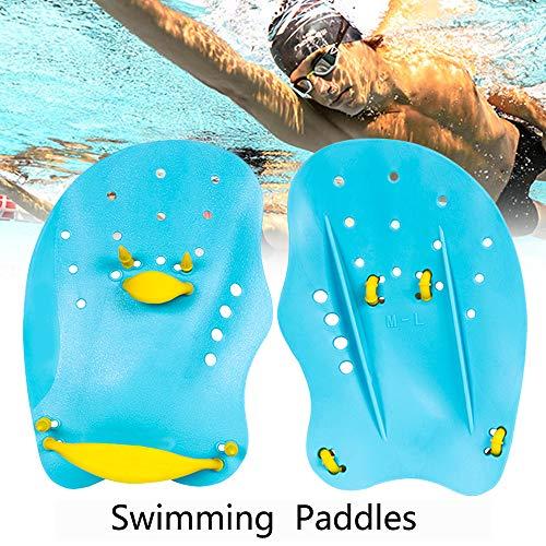 Joso Schwimmtraining Hand Paddle, Schwimmen Paddel mit Netzbeuteln, Schwimm Wettkampf Trainingshilfe, Schwimmpalme für den Beruf Schwimmtraining
