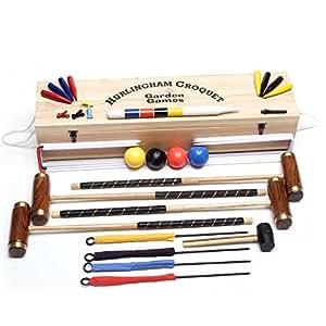 Hurlingham 4 Player Croquet Set