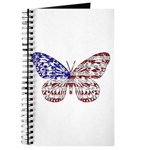 CafePress–American Schmetterling–Spiralbindung Journal Notizbuch, persönliches Tagebuch, blanko