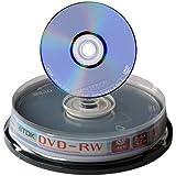 10TDK DVD-RW 4x vírgenes en eje