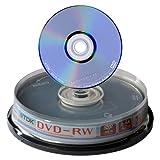 10 TDK DVD-RW 4x Rohlinge in Spindel