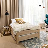 Pharao24 Stapelbares Bett aus Buche Massivholz geölt