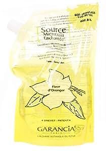 Garancia Source Micellaire Enchantée Eau Démaquillante Micellaire Fleur d'Oranger Éco-Recharge 400 ml