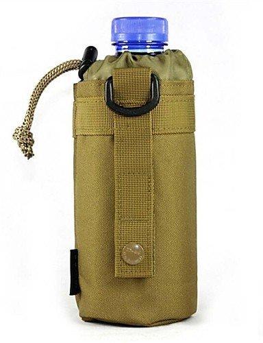 ZQ 1L L Kordel Tasche Camping & Wandern / Klettern Outdoor Kompakt Schwarz / Braun Wasserdichtes Material OEM Brown