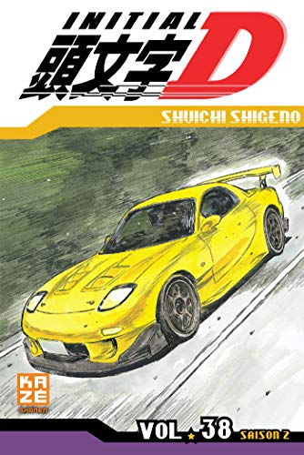 Initial D Edition simple Tome 38