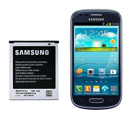 ORIGINAL Hochleistungs Li-Ion Akku 3,8V / 1500mAh / 5,7Wh für Samsung EB425161LU EB-F1M7FLU passend für Samsung Galaxy S3 Mini GT-i8190, Ace 2 GT-i8160, S Duos GT-S7562, S7568