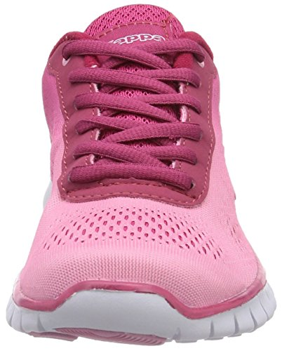 Kappa Sunrise, Baskets Basses mixte adulte Rose - Pink (2122 Rose/Pink)
