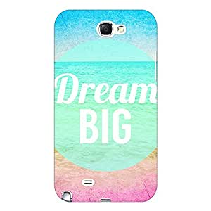 Jugaaduu Dream Quote Back Cover Case For Samsung Galaxy Note 2 N7100