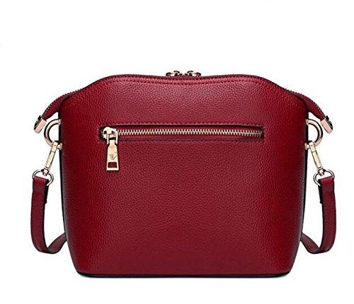 Borsa A Tracolla Messenger Bag Borsa A Tracolla Cowboy Pack Bag Shell Bag In Pelle Nero Handbags Temperamento Elegante Borsa Messenger Messenger A