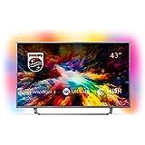 Philips 43PUS7303/12 108 cm (43 Zoll) LED Fernseher (Ambilight, 4K Ultra HD, Triple Tuner, Smart Fernseher)