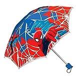 Marvel Spiderman - Regenschirm faltbar mit Schutztasche Kinderschirm 55cm