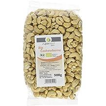 Superkost Bio Cashewkerne Roh Ganz, 1er Pack (1 x 500 g)