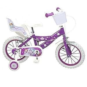 Vélo officiel Disney Princesse Sofia 14 pouces fille