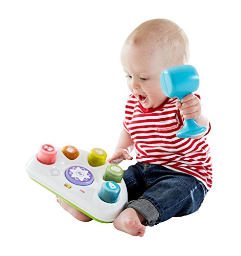 Fisher Price Everything Baby Tappin' Beats Bench - juguetes musicales (Niño/niña, Multicolor, AA)