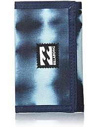 Billabong Atom Wallet Monedero, Hombre, Azul (Tie Dye Stripe), 10 x 2 x 12 cm (W x H x L)