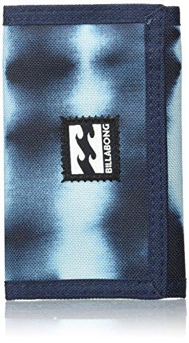 Billabong Atom Wallet Monedero, Hombre, Azul (Tie Dye Stripe), 10 x 2...