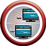 One For All Kabelloser 2,4 GHz TV-Sender - Für Fernseher mit SCART-Anschluss - Schwarz - SV1715 für One For All Kabelloser 2,4 GHz TV-Sender - Für Fernseher mit SCART-Anschluss - Schwarz - SV1715