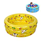 Mr.LQ Aufblasbare Babybadewanne Kid Swimming Pool Faltbare Reise Air Shower Becken Sitzbäder für 0-3 Jahre