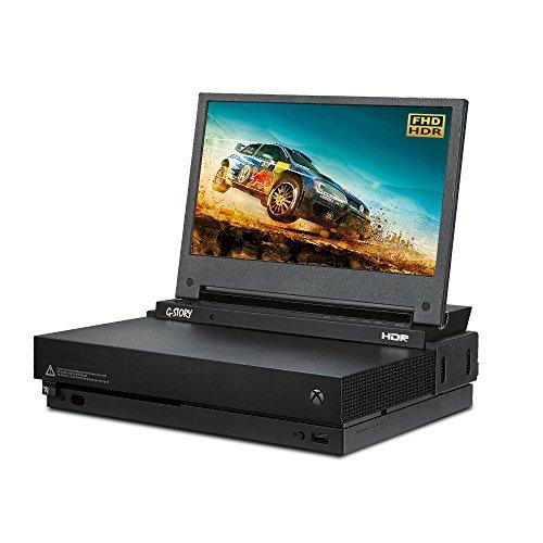 Der 11,6-Zoll HDR FHD 1080p mobile augenschonende Gaming-Monitor für die Xbox One X von G-STORY mit FreeSync, HDMI-Kabel und integrierten Multimedia-Stereo-Lautsprechern