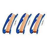 Cerf-volant ligne avec poignée de cerf-volant, cordes de kite bobine enrouleur avec 100 m durable ligne, connecteur prêt , Parfait kite accessoires, 3 pièces