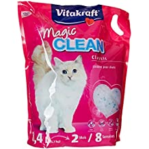 Vitakraft 15526 Litière Magic Clean 8 Semaines pour chat 8,4L