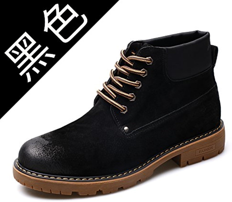 HL PYL   Neue Männliche startet von der koreanischen Version Hilfe von Martin Stiefel Rhabarber Stiefel  39  Schwarz