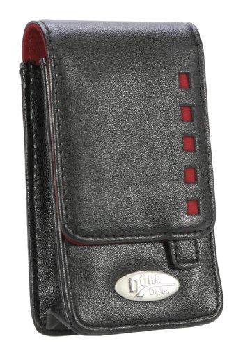 Tasche für Canon Ixus 95 IS 95IS 95-IS - Kameratasche Dörr Digi Style DS 10 rot