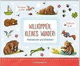Stickerbuch - BabyBär - Willkommen, kleines Wunder!: Motivsticker und Etiketten
