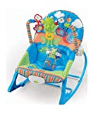 Toyshine Newborn to Toddler Baby Rocker Vibrating Chair, Adjustable Mode