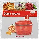 Tupperware® Rezeptheft für den Quick-Chef 3'deutsch Tzatziki, Reibekuchen