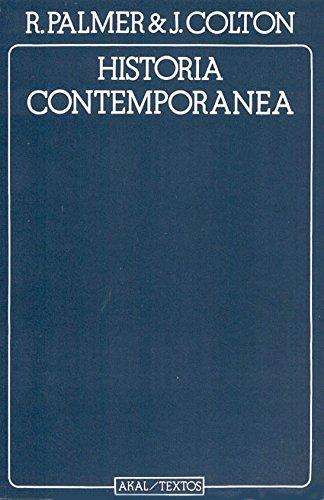 Historia contemporánea (Textos) por Joel Colton