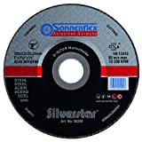 Sonnenflex AS 36 R BF - Disco para amoladoras de mesa (150x3x22,23mm)