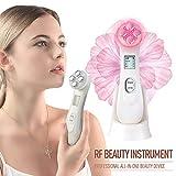 Dispositif de Beauté Ultrasonique,6 Modes de Soins pour la peau avec LED...