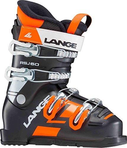 Lange RSJ 60 Kinder-Skischuhe LBG5160 Black/Orange Gr. 25.5