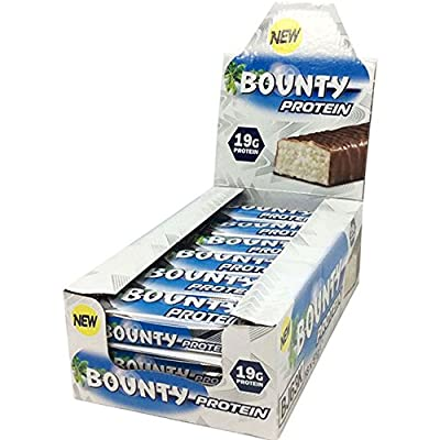 Bounty Protein Bar, 51 g, Pack of 9 by Mars