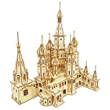 CPZP Russland Saint Basil es Kathedrale 3D Puzzle Wooden DIY Baumodell Beste Spielzeug